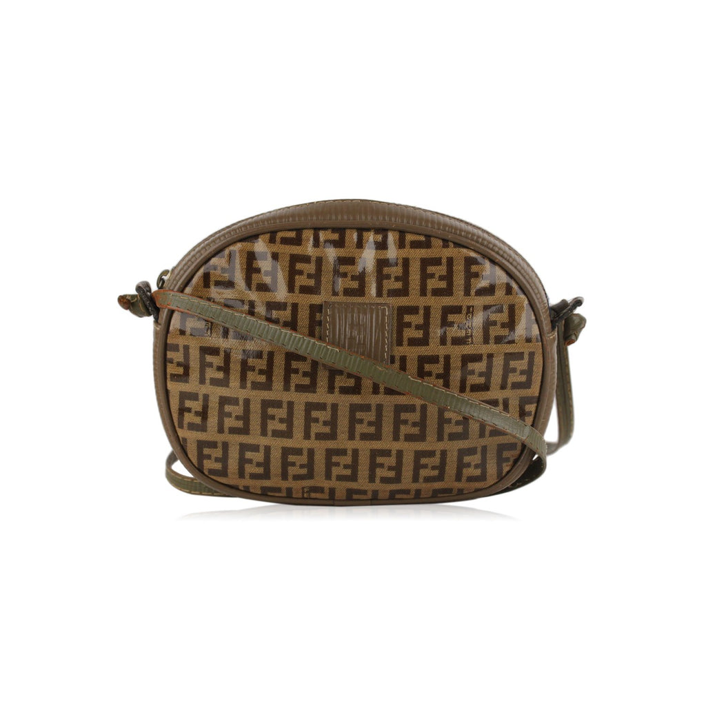 Fendi Vintage  Monogram Small Crossbody Bag