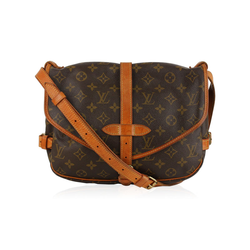 Louis Vuitton Vintage Monogram Saumur 30 Bag