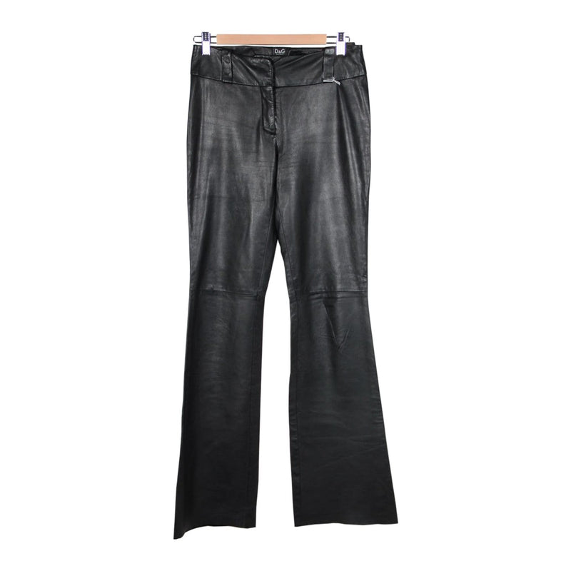 Leather Flare Pants Size 42 Opherty & Ciocci