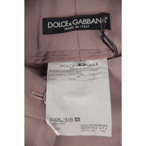Dolce & Gabbana Tan Wool Trousers Pants Italian Size 42 Opherty & Ciocci