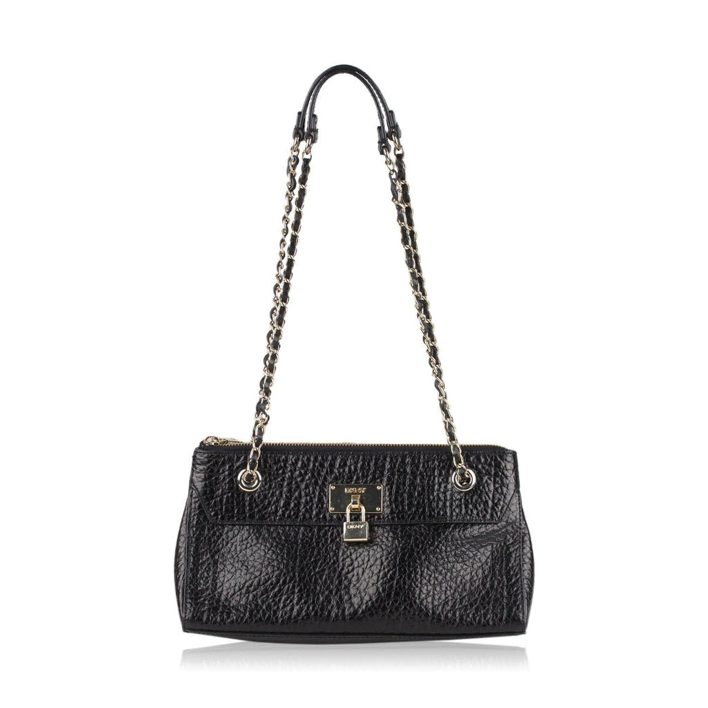 Dkny Grained Leather Shoulder Bag Opherty & Ciocci