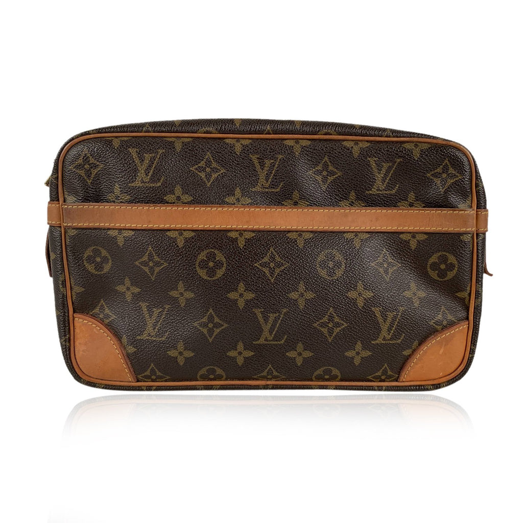 Louis Vuitton Louis Vuitton Monogram Compiegne 28 Clutch Pochette Cosmetic Bag