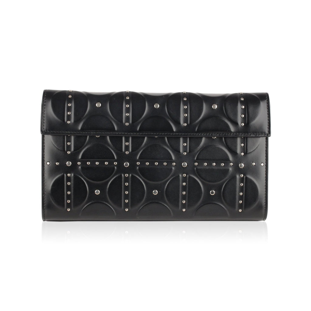Alaia Clutch Bag Handbag with Studs