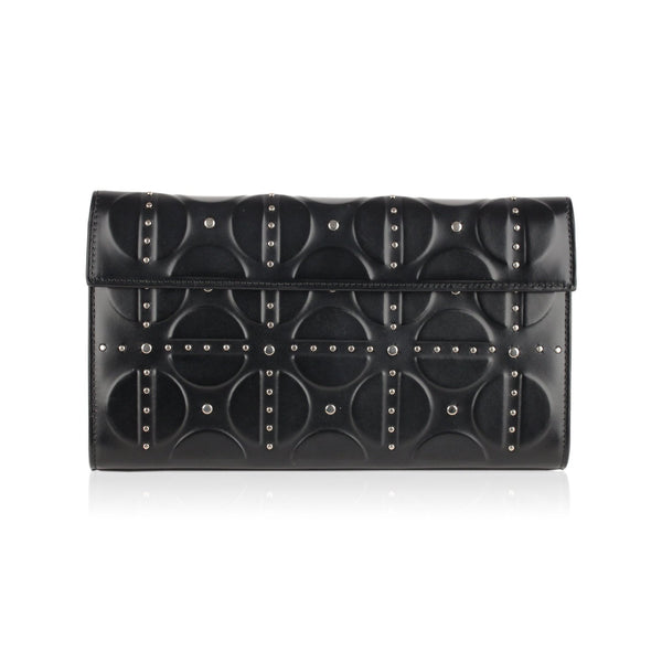 Alaia Clutch Bag Handbag with Studs - OPHERTY & CIOCCI