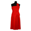 One Shoulder Midi Dress Size 42