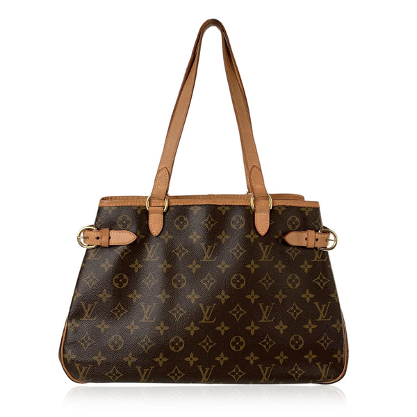 Louis Vuitton Monogram Canvas Batignolles Horizontal Tote Bag