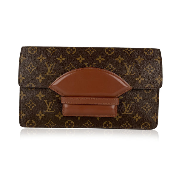 Louis Vuitton Vintage Monogram Canvas Chaillot Clutch Bag