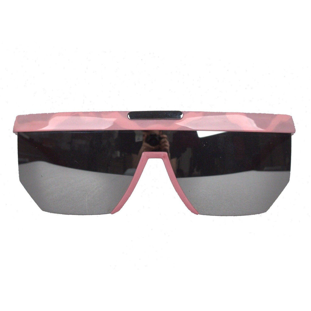 Pink Sunglasses Mod. M 3077 Mirror Lenses
