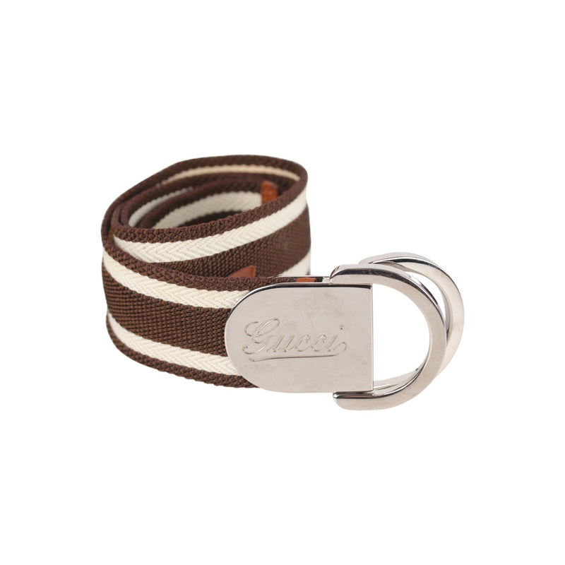 Canvas Striped Belt Size 90/36