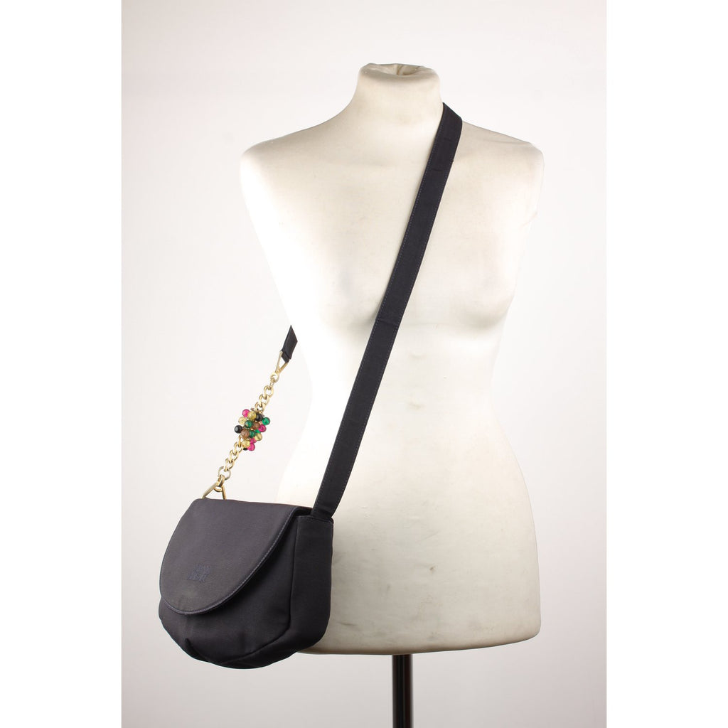 Gianni Versace Vintage Flap Shoulder Bag