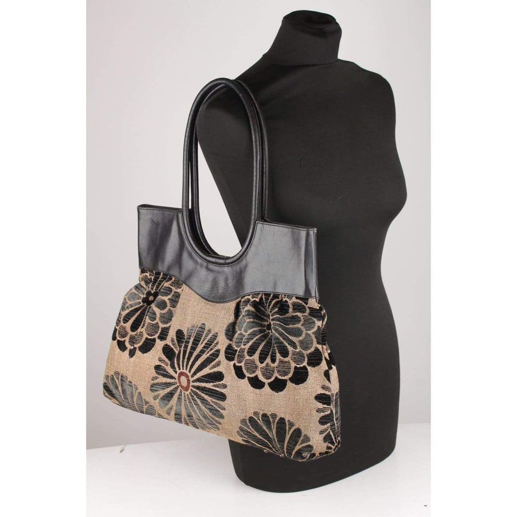 Tapestry Floral Tote Bag Opherty & Ciocci