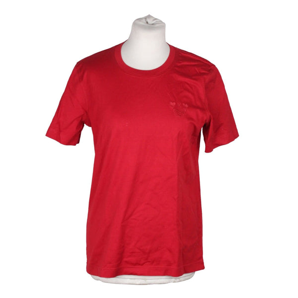 Red Cotton T-Shirt Opherty & Ciocci