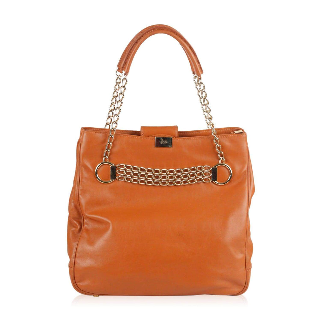 Sport Tote Shoulder Bag With Chain Detail Opherty & Ciocci
