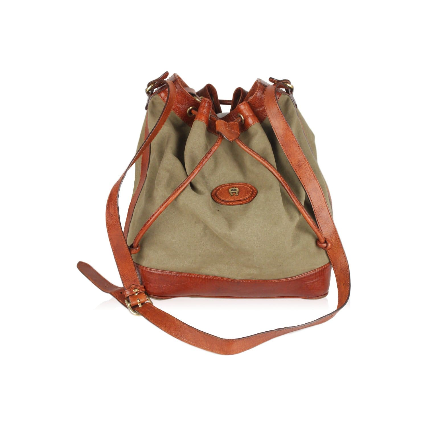 68a74e96b0 Enjoy Etienne Aigner Vintage Drawstring Bucket Bag at OPHERTYCIOCCI ...
