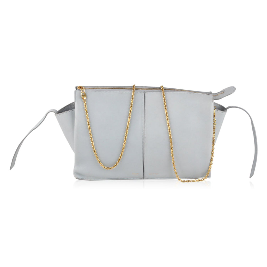 Trifold Clutch on Chain Shoulder Bag