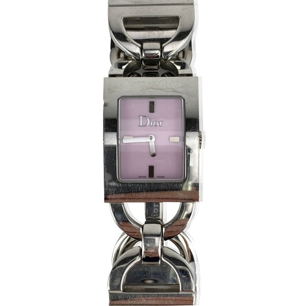 Christian Dior Vintage Stainless Steel Malice D78 109 Wrist Watch