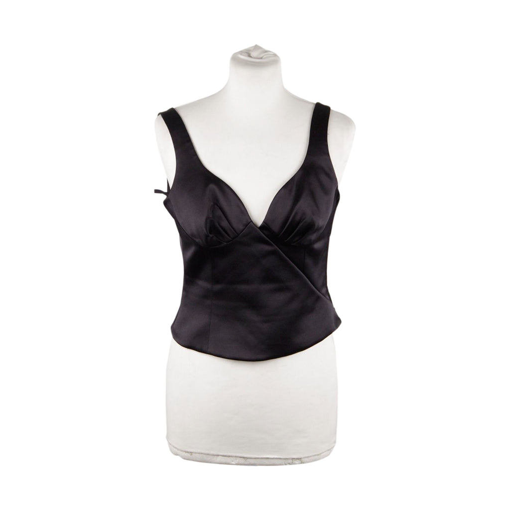 Armani Sleeveless Top Cropped Size 38
