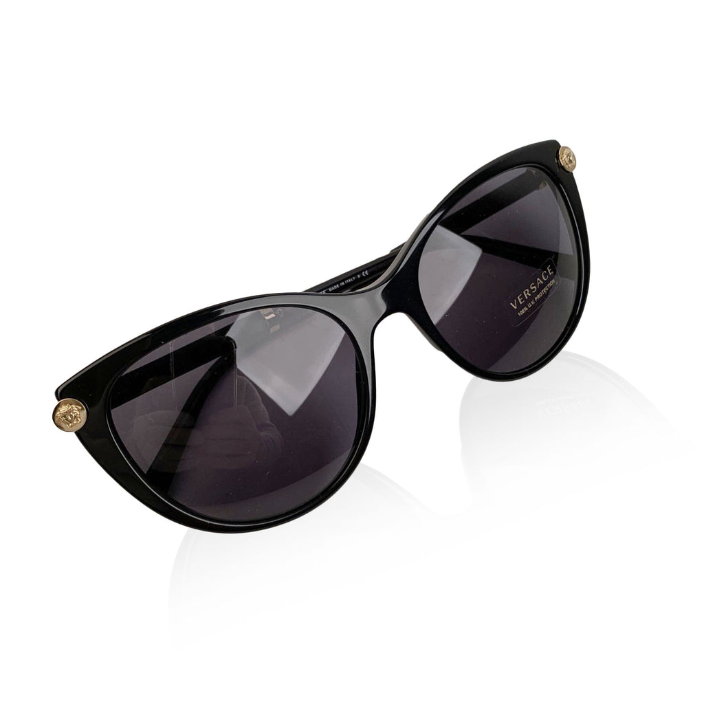 Versace Black Medusa Sunglasses 4364-Q V Rock 55/18 140mm