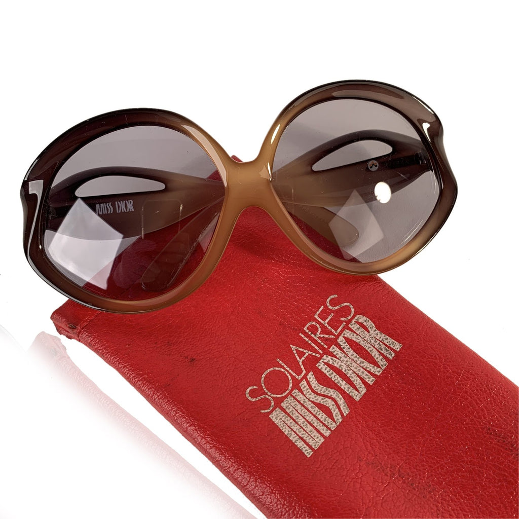 Christian Dior Miss Dior Rare Vintage Optyl Oversize Sunglasses