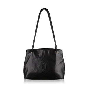Chanel Vintage Tote Bag  with CC logo