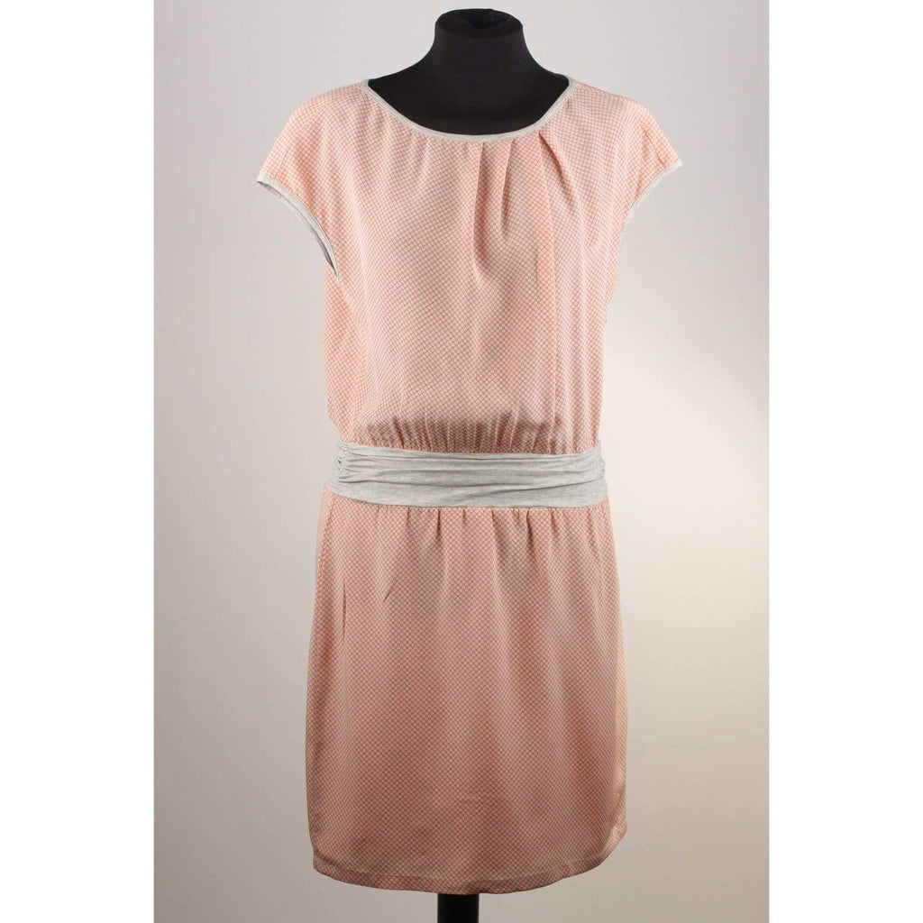 Fabiana Filippi Pink Printed Silk Cap Sleeve Dress Size Xs Opherty & Ciocci