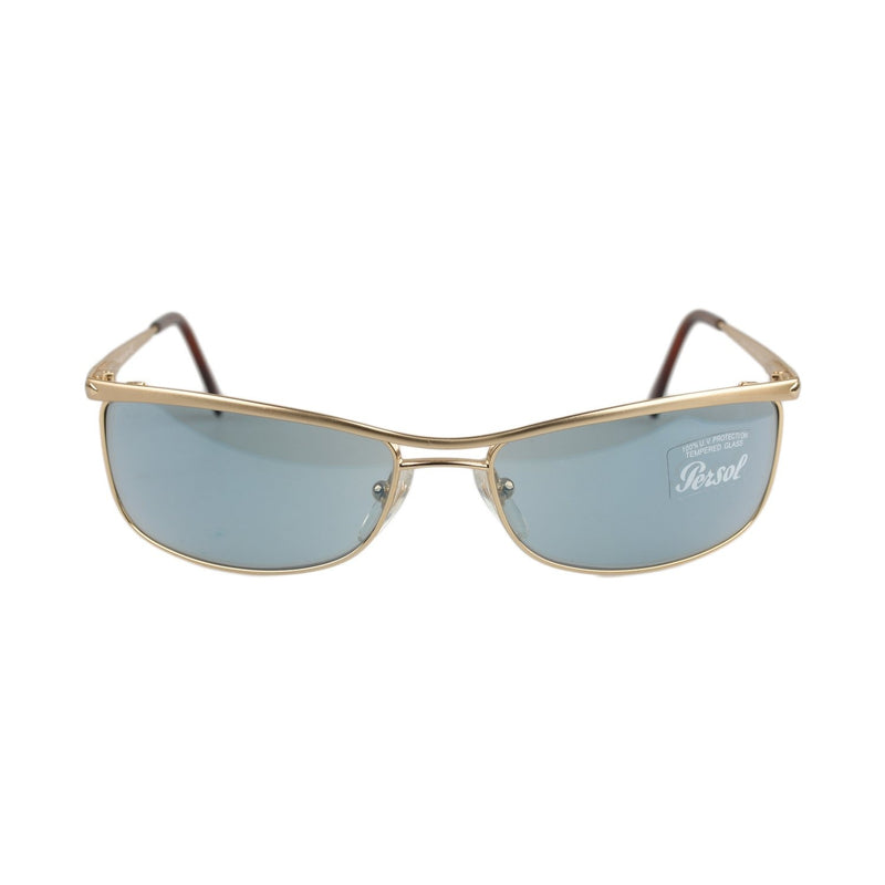Vintage Matte Gold Unisex Sunglasses Mod. 2093-S 60mm