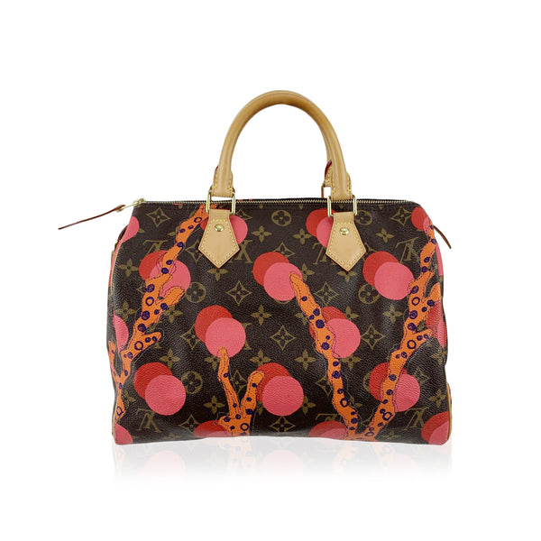 Louis Vuitton Limited Edition Ramages Monogram Speedy 30 Bag