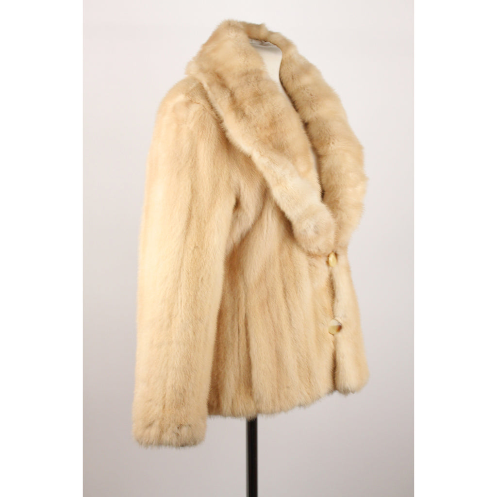 Reversible Jacket with Mink Fur Lining