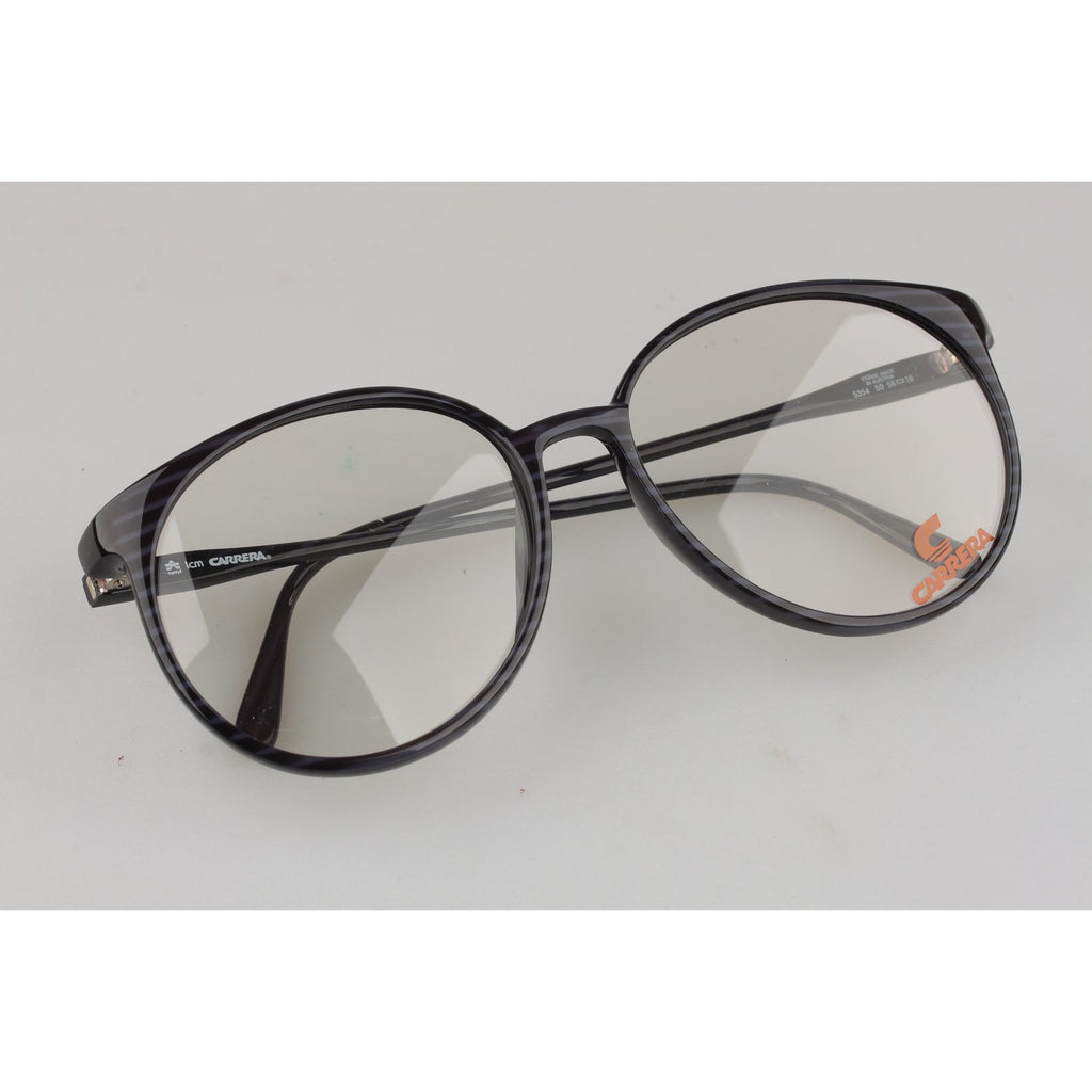 Carrera Black Striped Round Optyl Frame Mod. 5354 58mm
