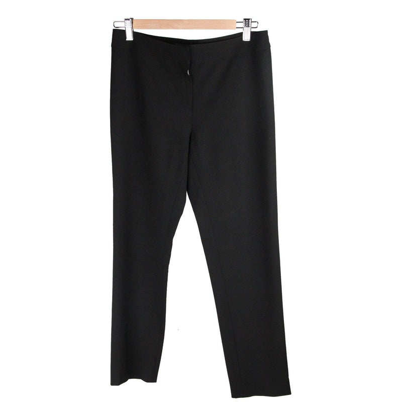 Fendi Black Virgin Wool PANTS Trousers Size 40