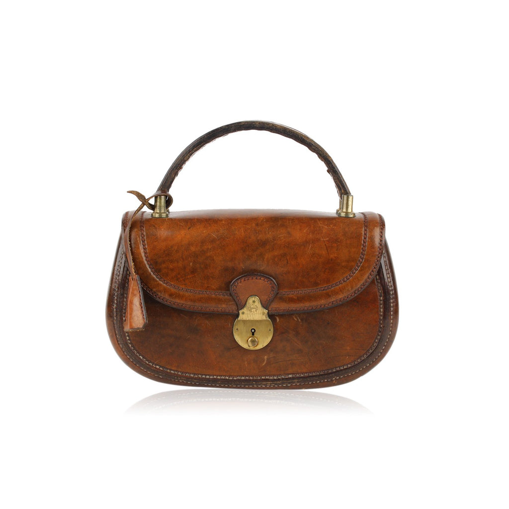 Saddlers Union Vintage Antiquated Handbag