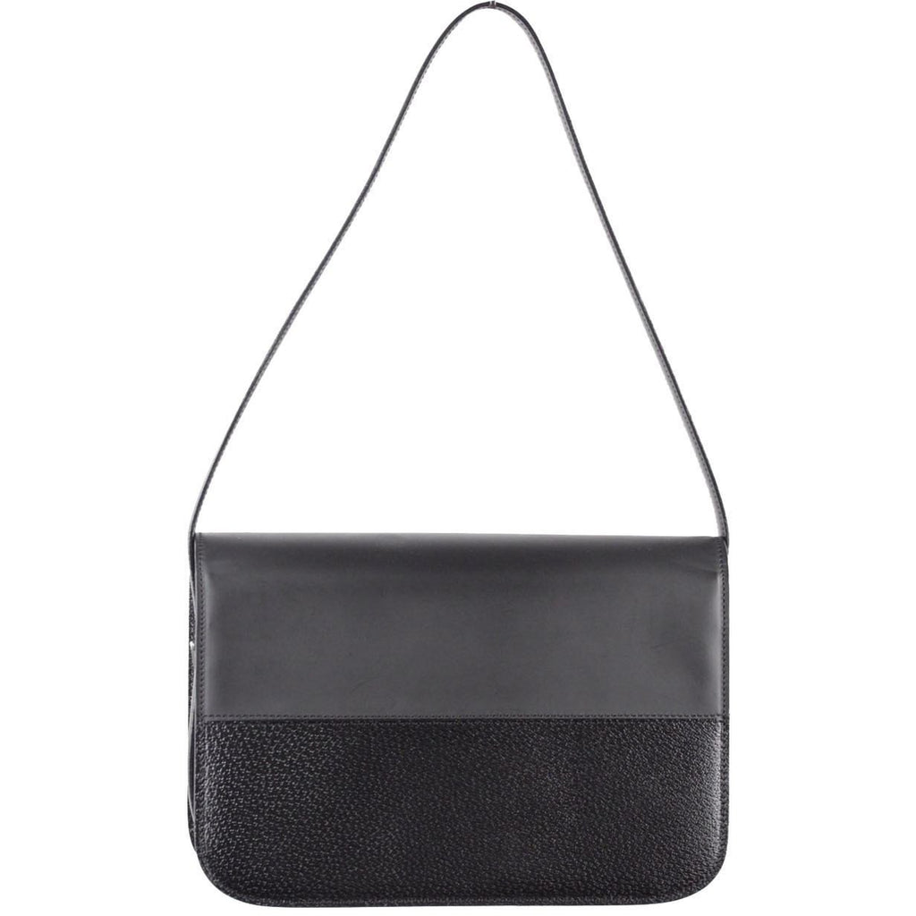 Structured Shoulder Bag Handbag