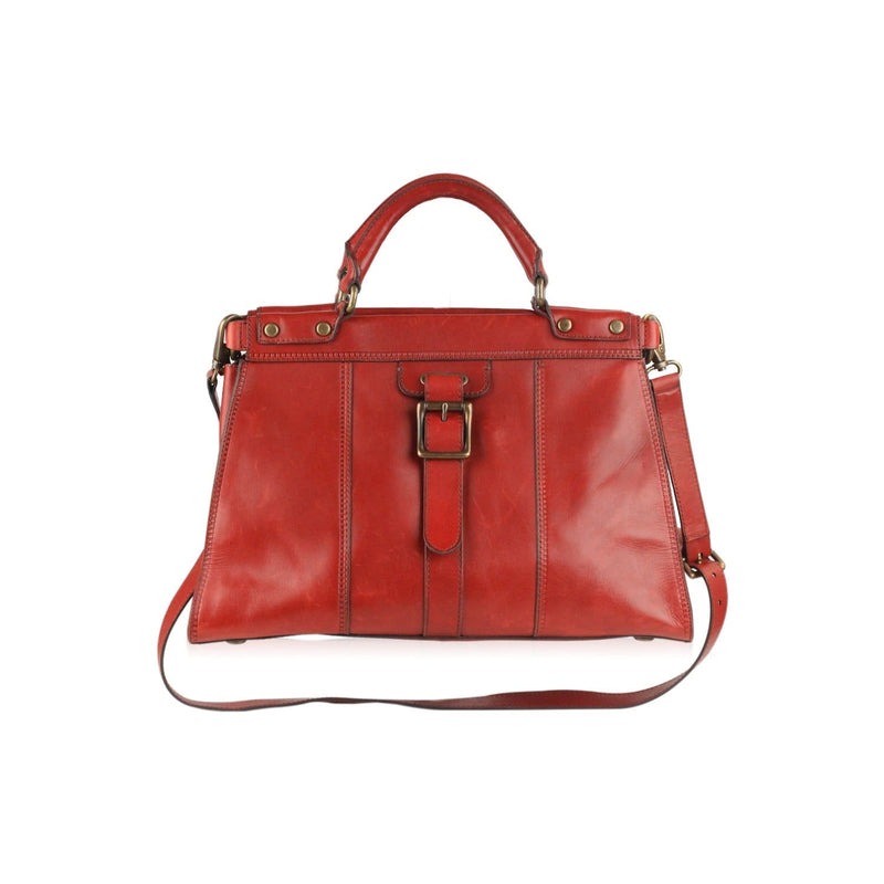 Satchel Bag With Shoulder Strap Opherty & Ciocci