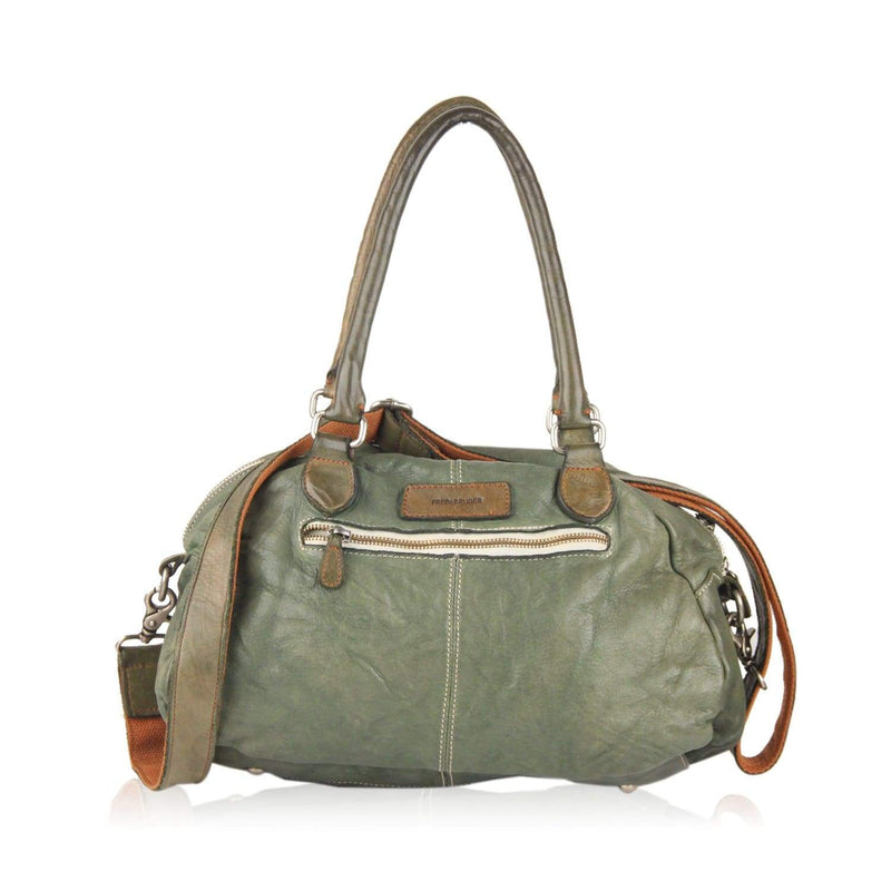 Satchel Bowler Bag With Shoulder Strap Opherty & Ciocci