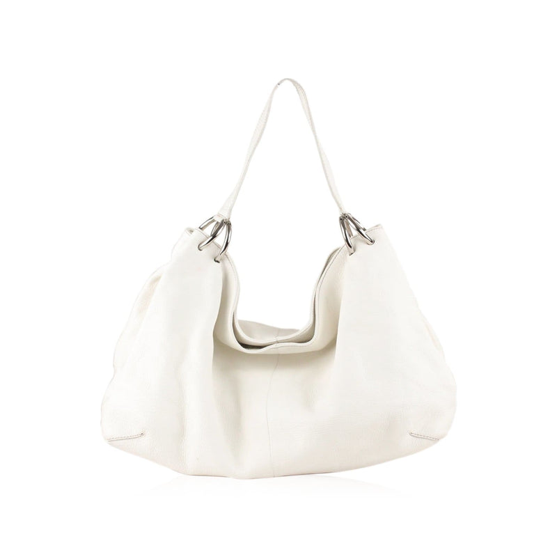 Pebbled Leather Tote Shoulder Bag Opherty & Ciocci
