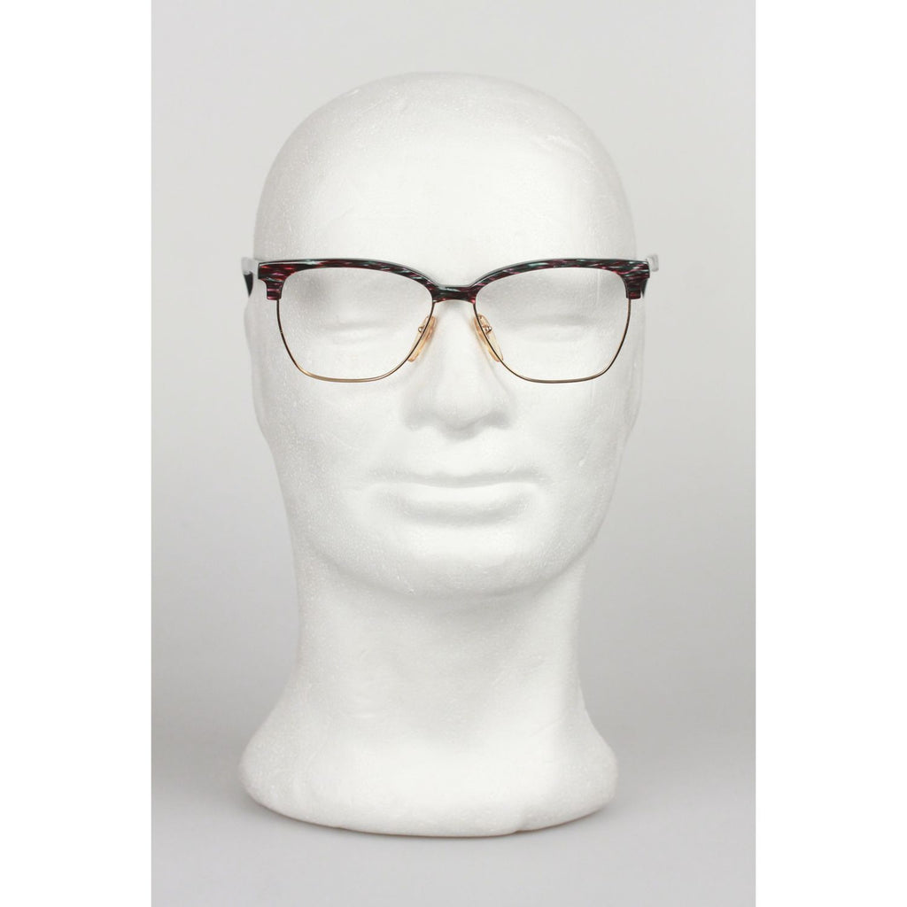 GIANNI VERSACE Vintage Gold Multicolor FRAME Eyeglasses mod. 469 56mm
