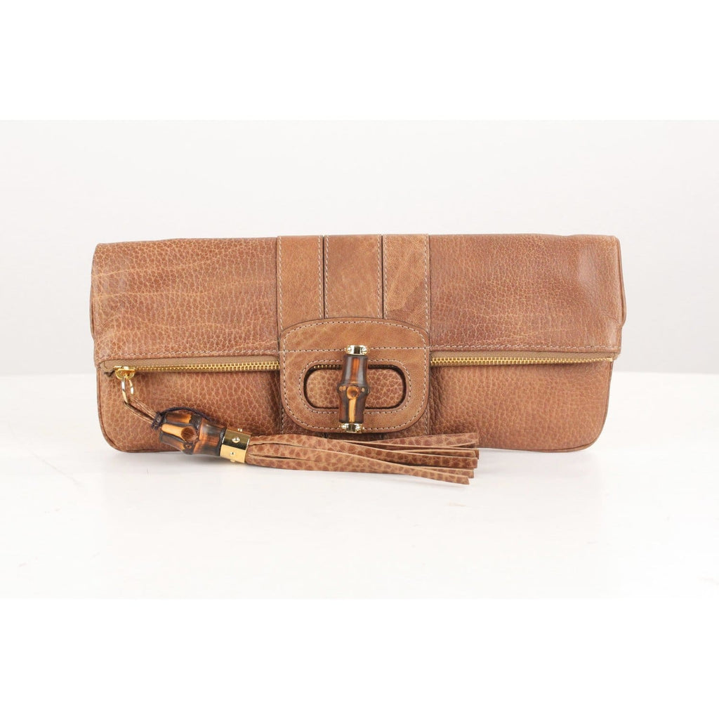 Bamboo Tassel Lucy Folding Clutch Bag Opherty & Ciocci