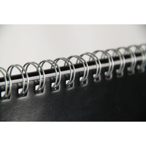 GUCCI Black Leather Desk WEEKLY PLANNER NOTEBOOK