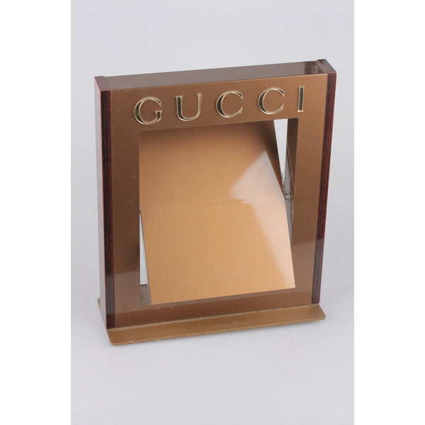 GUCCI Dealer Store Display Pivotable MIRROR Rare
