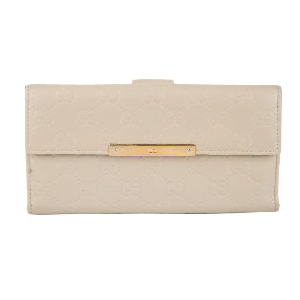 Guccissima Leather Continental Wallet Opherty & Ciocci