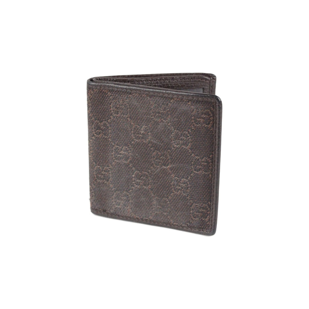Monogram Canvas Bifold Wallet Opherty & Ciocci