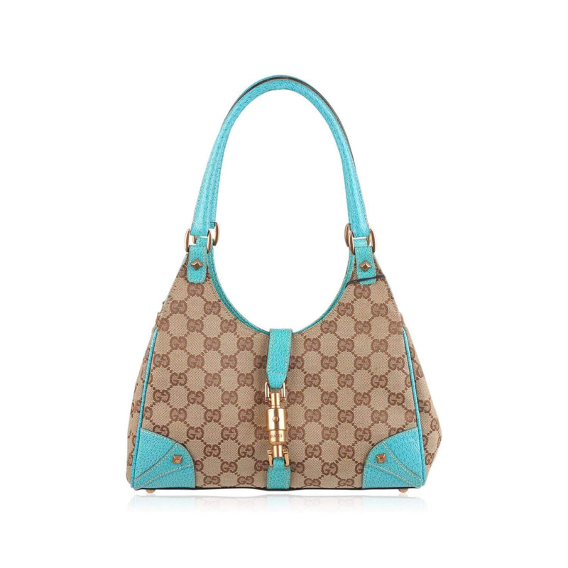 Monogram Canvas Stirrup Hobo Bag Opherty & Ciocci