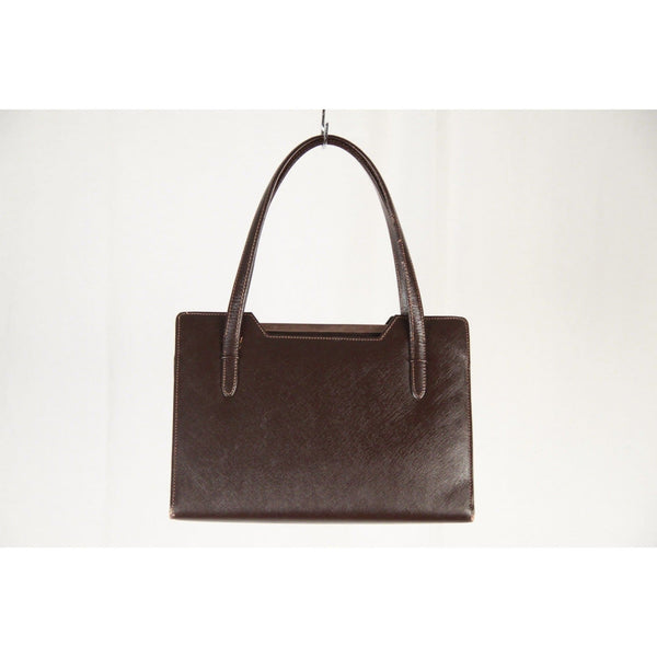 e88b0518f98 Opherty   Ciocci - Vintage Brown Leather Top Handlle Bag - Gucci