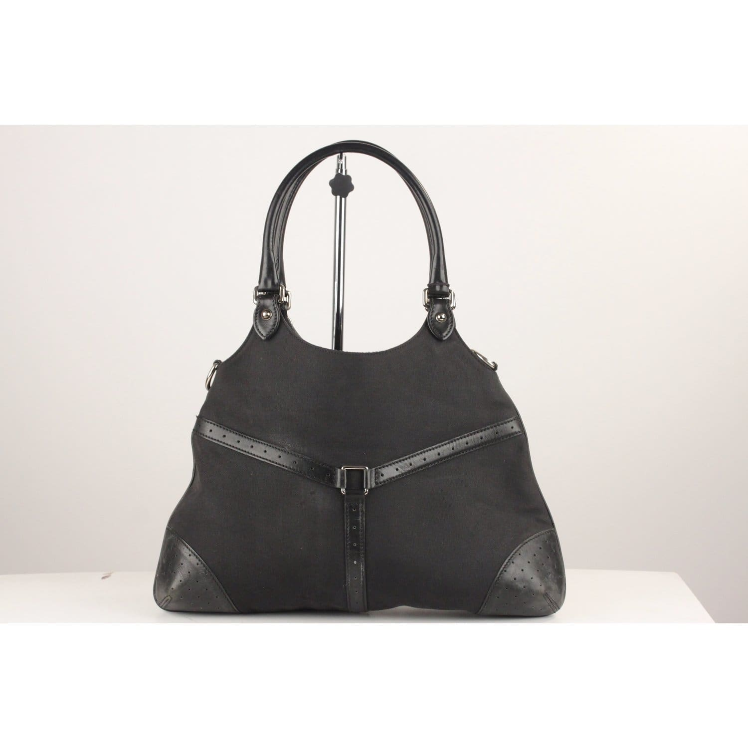 062e6647417 Enjoy Gucci Reins Hobo Bag Tote GG Logo at OPHERTYCIOCCI – OPHERTY ...