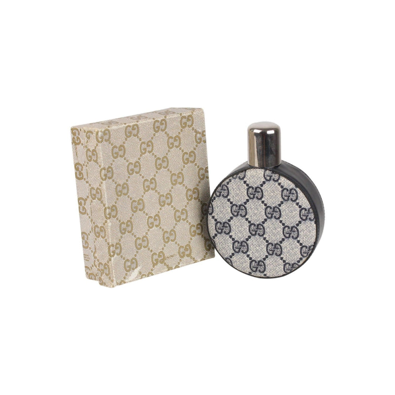 Vintage Monogram Round Hip Flask Opherty & Ciocci