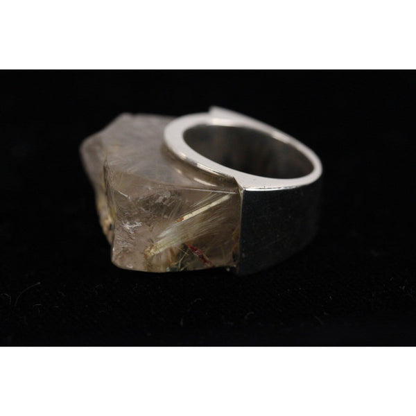 925 Sterling Silver Rutilated Quartz Ring Opherty & Ciocci