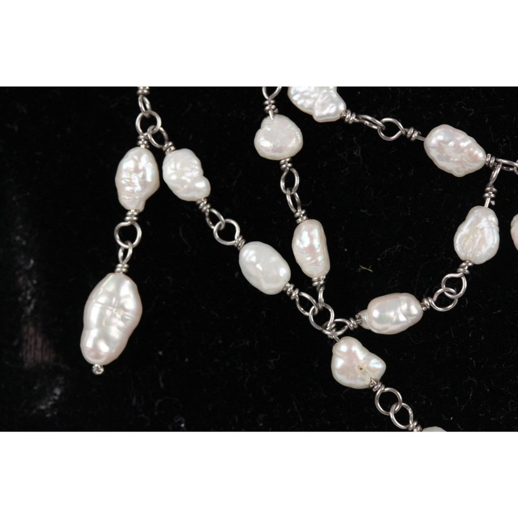 Baroque Saltwater Pearls Necklace Opherty & Ciocci