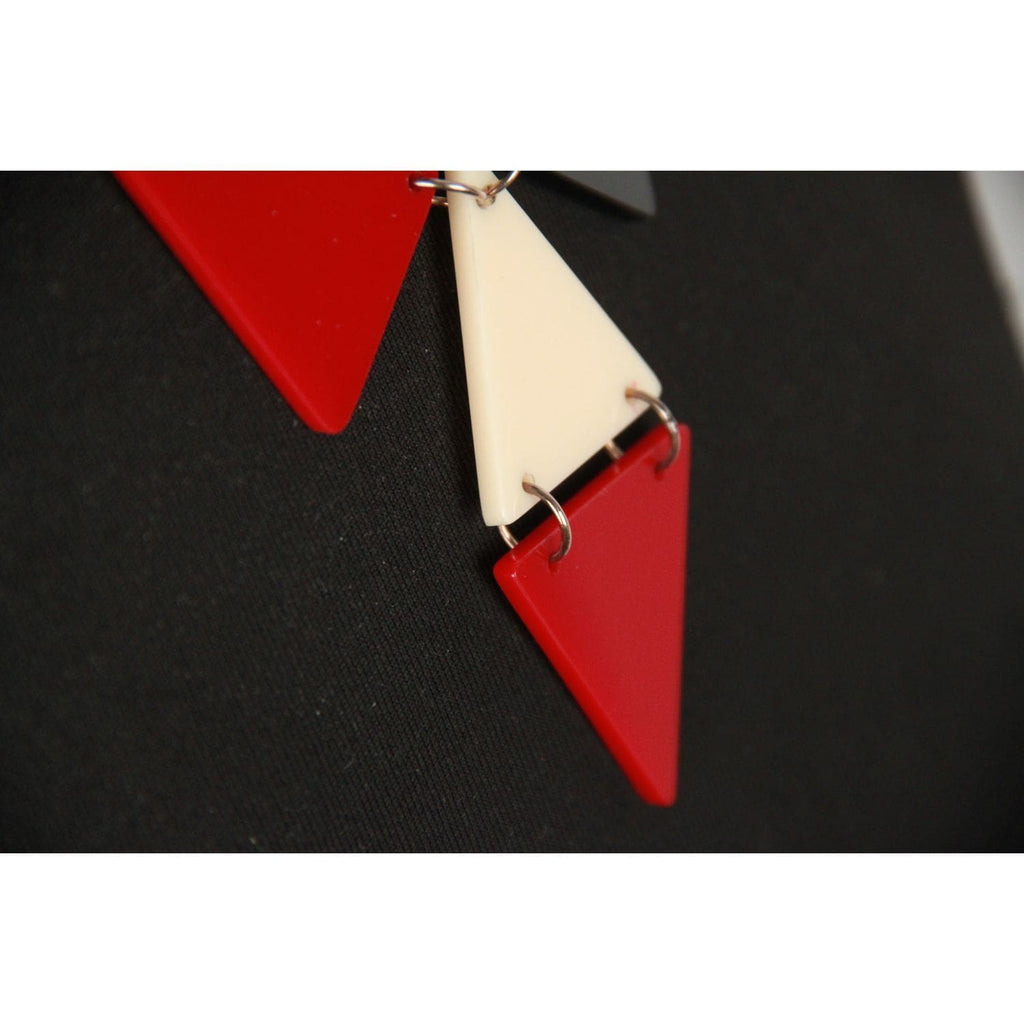 Tricolor Plexiglass Triangle Opherty & Ciocci