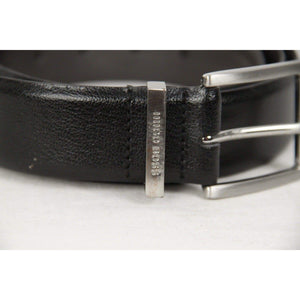 Boss By Hugo Boss Black Leather Alvin Belt Size 105/40 Opherty & Ciocci