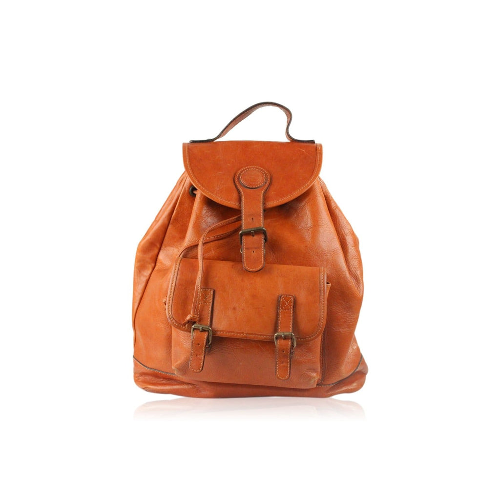 Leather Backpack Shoulder Bag Opherty & Ciocci